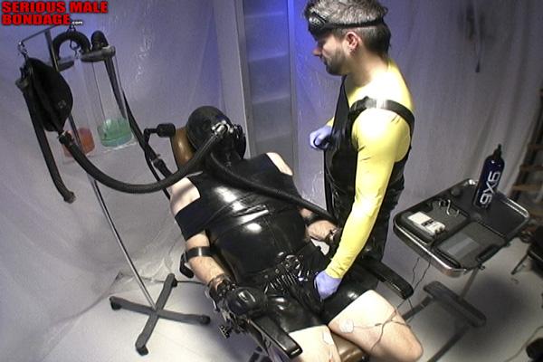 Rank rubber bondage