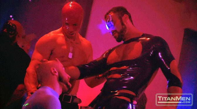 Francois Sagat and Spencer Reed in Incubus