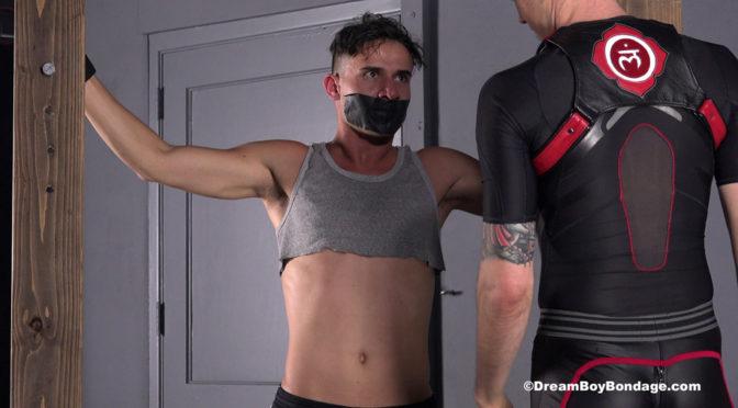 Vinny Blackwood is bound and tortured