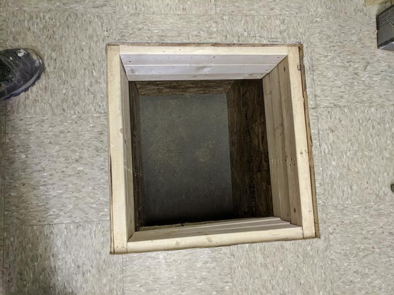 underground cell for make bondage