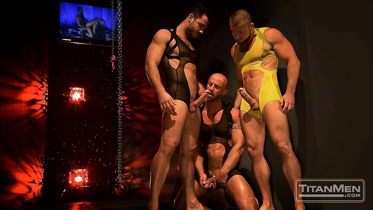 Aymeric DeVille, Francois Sagat, Jessy Ares, Jimmy Durano, Shay Michaels, Spencer Reed, Trenton Ducati