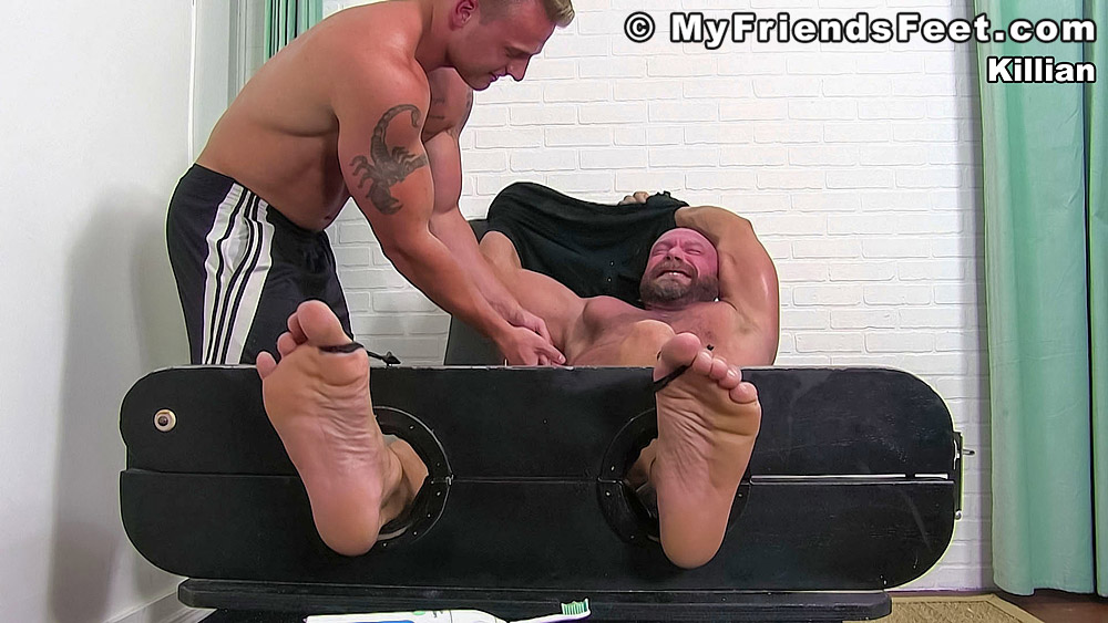 male on male tickle torture