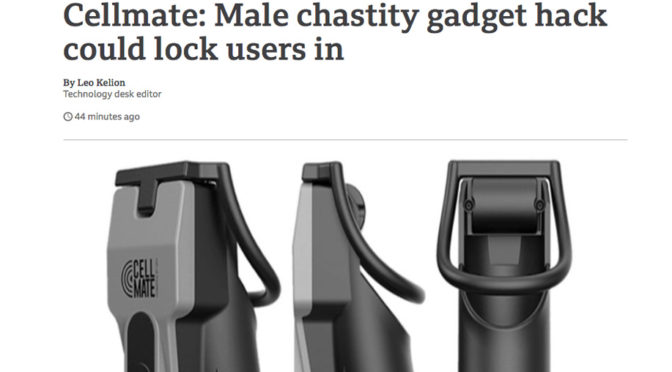 Breaking News: Cellmate chastity device hack exposed