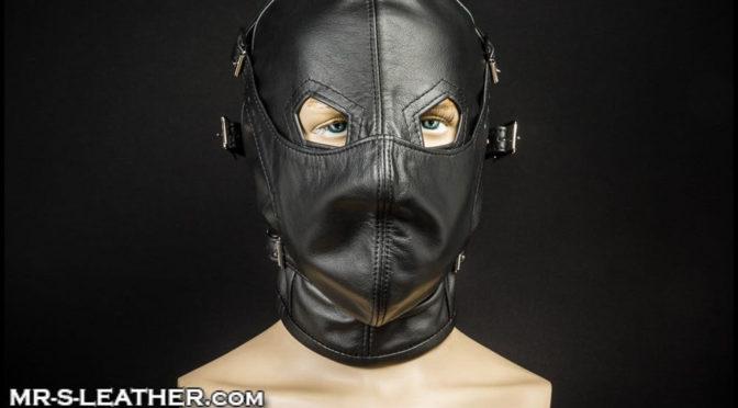 Heavy-duty male BDSM gear: Asylum Hood