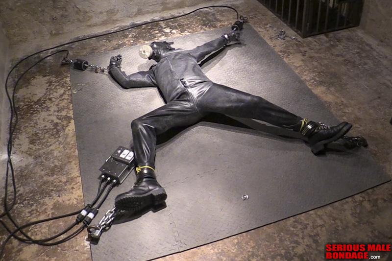 electromagnet self-bondage invention