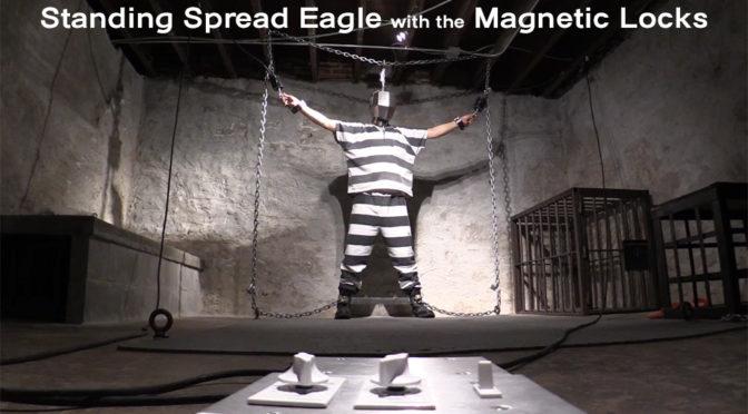 Trapped in bondage via mag locks
