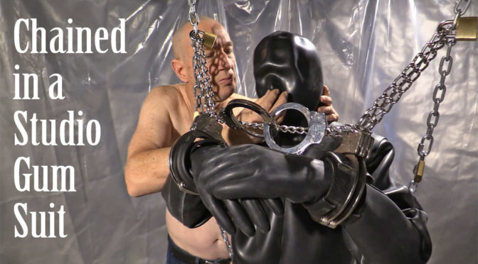 Chained in a Studio Gum Suit