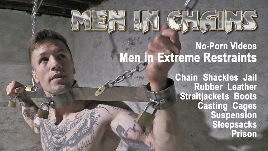 For Heavy male bdsm Men in chains