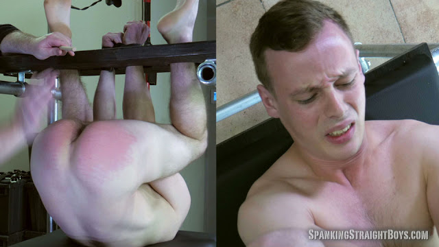 Male BDSM: Patrick in the Spanking Tower