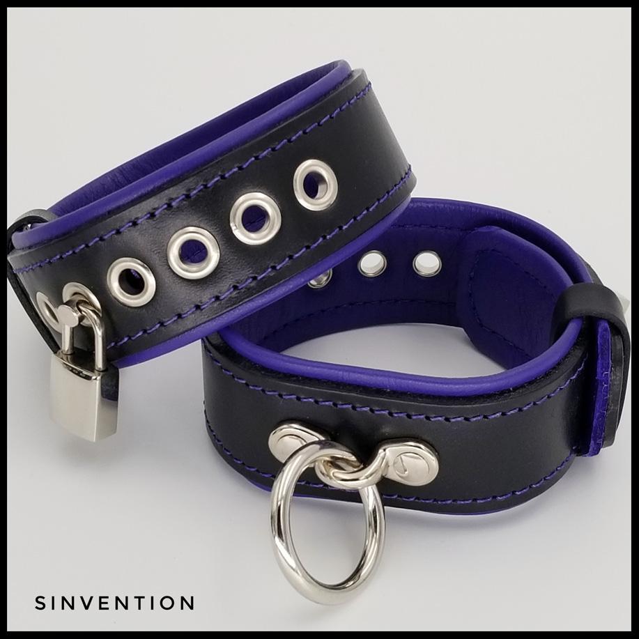 leather bondage restraints
