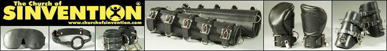 leather bondage restrraints