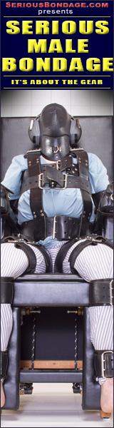 rubber bondage jackoff