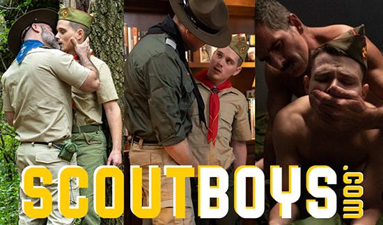 Scout Boys gay bondage