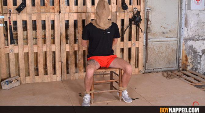 New bondage meat is taken prisoner at Boynapped