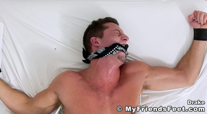 The boss gets tied up and tickled