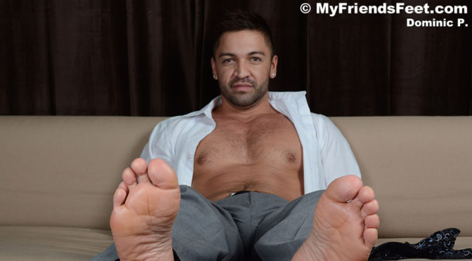 Foot worship with Dominic Pacifico