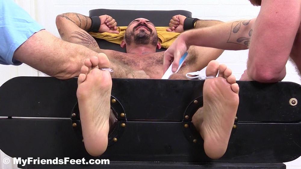 Alessio Romero gets revenge tickled