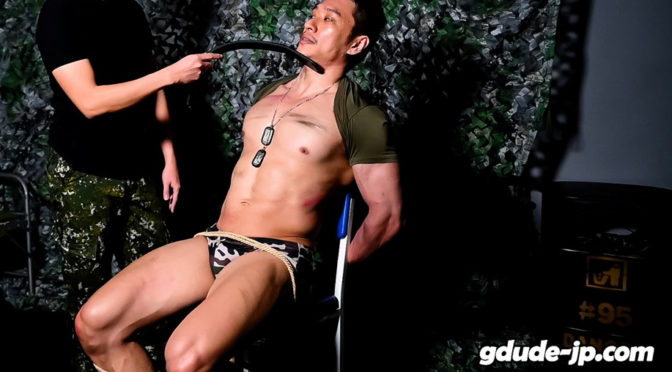 Male bondage porn: Mercenary Eagle