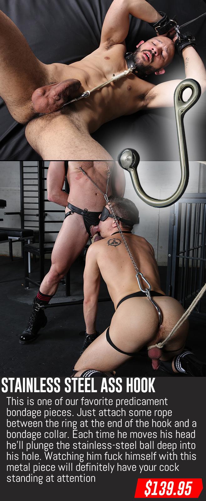 ass hook for gay bondage sex