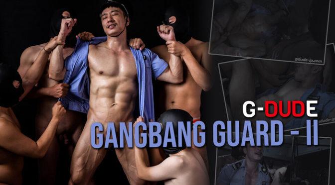 Male bondage porn: Gangbang Guard II