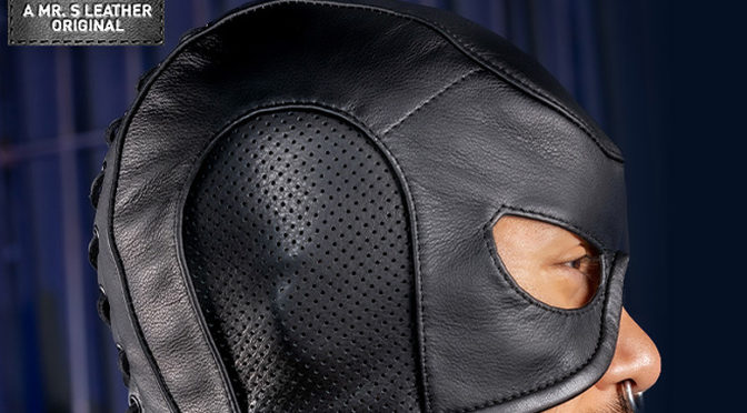 Leather Executioners Hood