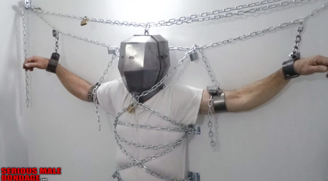 Head cage: A form of heavy bondage for your male prisoner