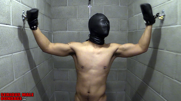 bicep flex while tied up