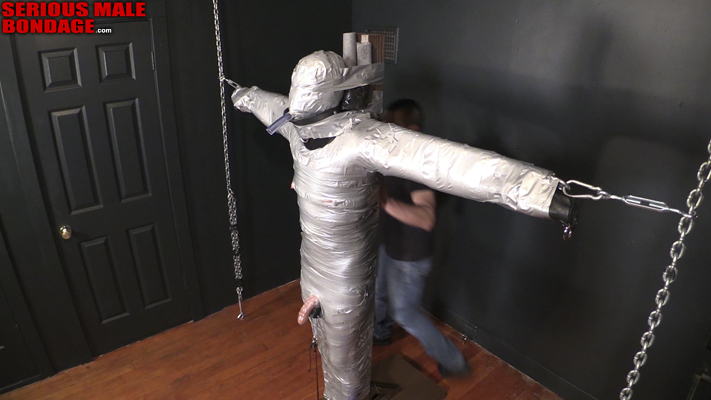 male bdsm duct tape