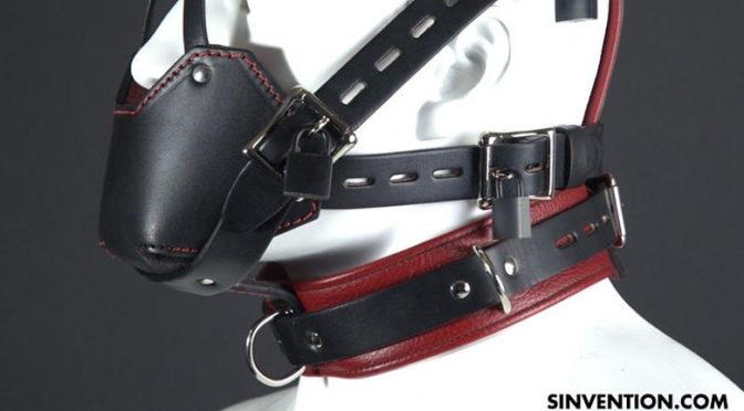 Leather face muzzle