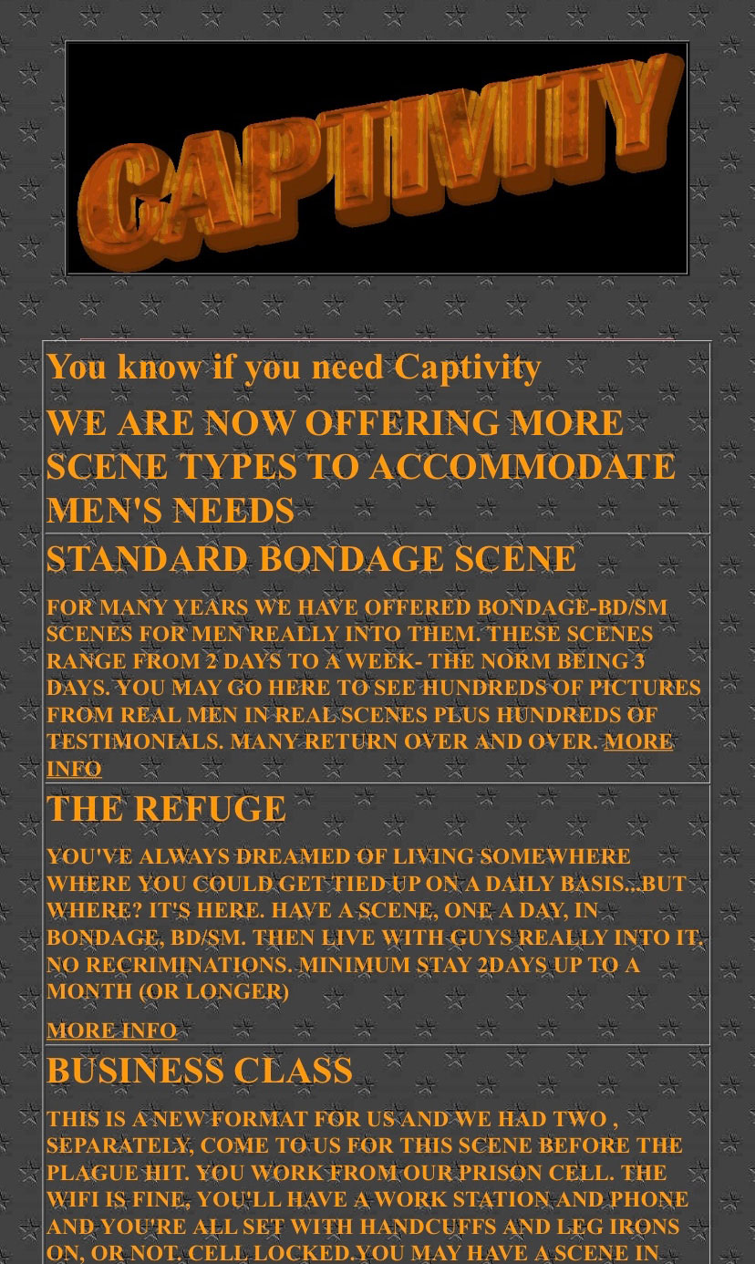 Master Jack Men Need Captivity