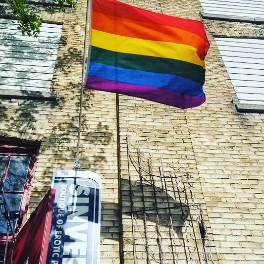 Sinvention LGBTQ pride