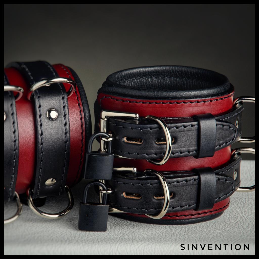 locking leather bondage