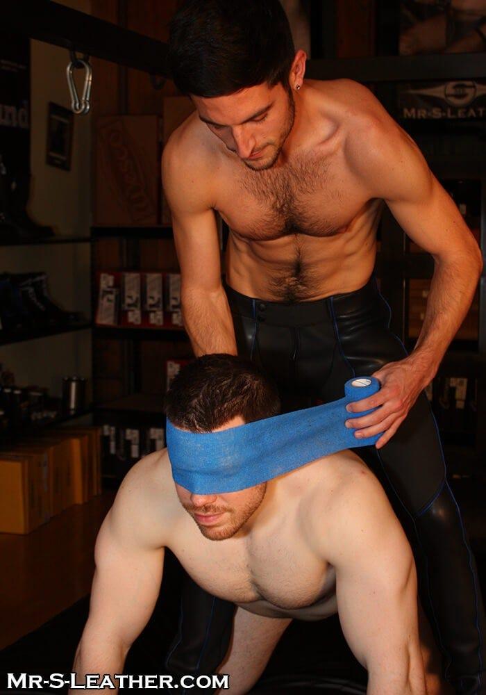 male bondage tape wrap