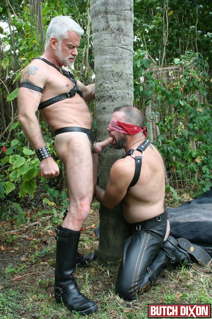 Jake Marshall and Kevin McDonough in action at Butch Dixon male bdsm