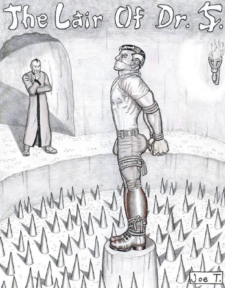 Joe T. male BDSM artwork