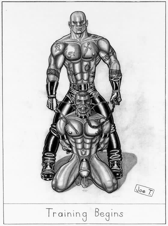 Joe T. bondage artwork