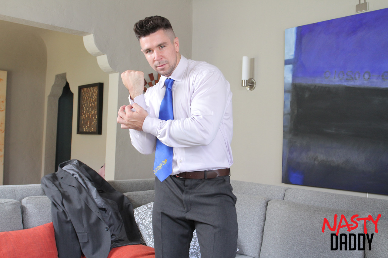 gay male porn Trenton Ducati and his sex toys