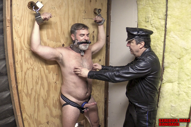Mr Kristofer male bdsm video Steve Landess