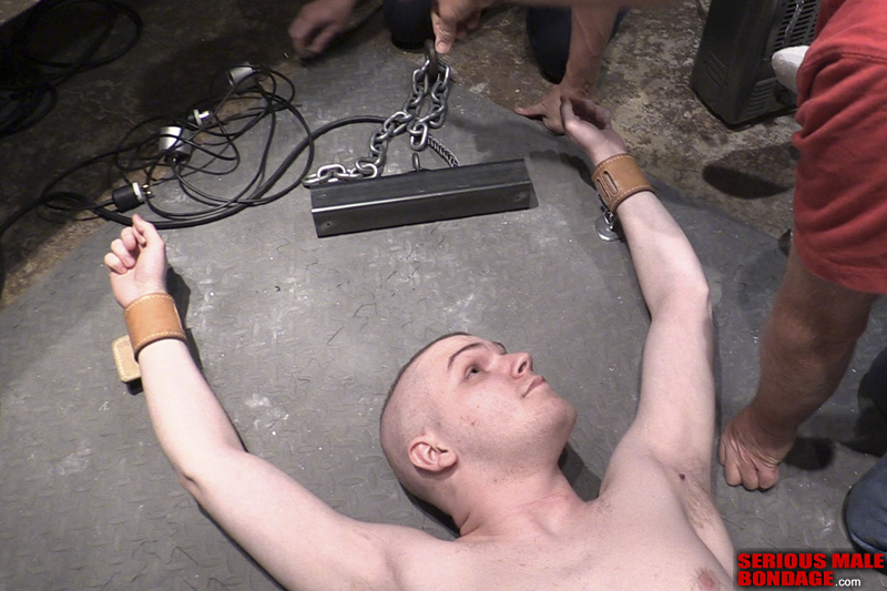 trapped in self bondage by magnets